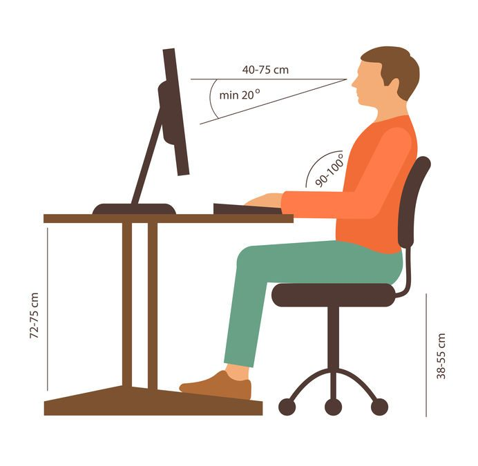 Simple ergonomic tips for you to follow